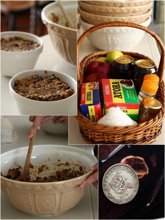 Stir up Sunday には13種の材料を時計回りにかき混ぜプディングを作ります☆