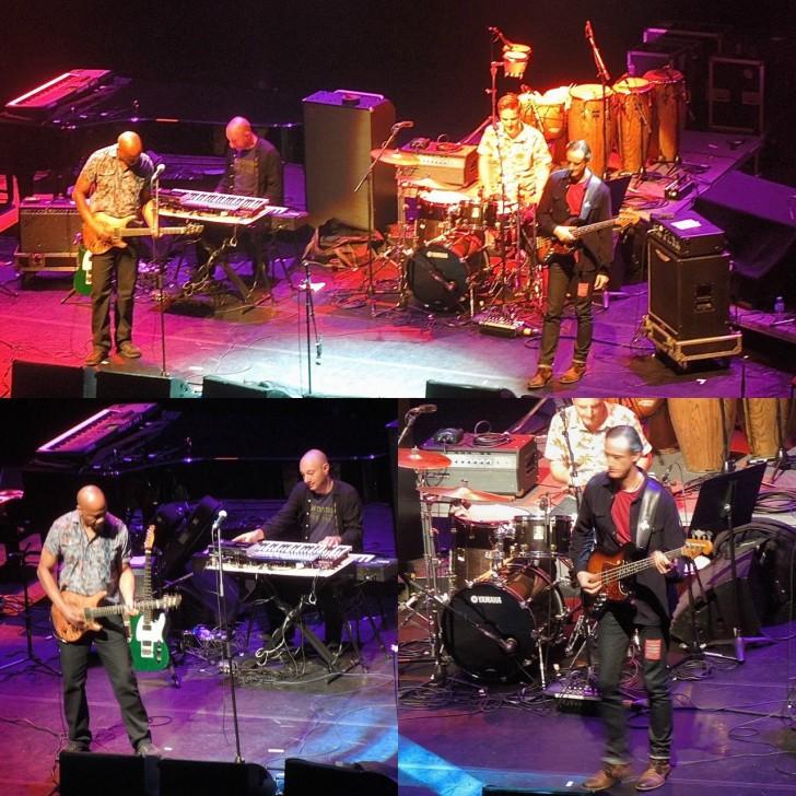 トニーの超絶ギターと相方ニックのベースが大舞台を飾って嬉しかったステージ☆