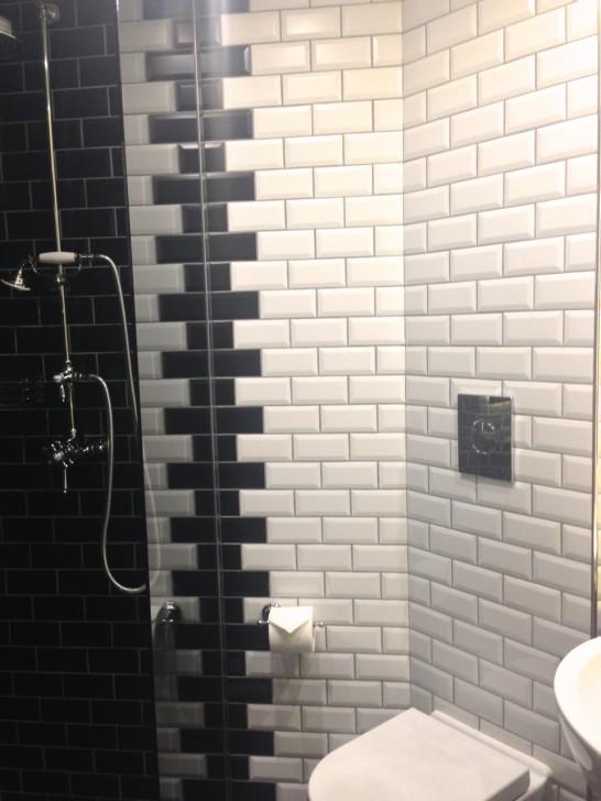 全室シャワーのみで浴槽なし。水圧が高いのでリフレッシュできる