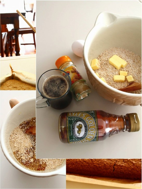 オーツとゴールデンシロップ、エールとジンジャーが入った栄養たっぷりの冬のお菓子☆