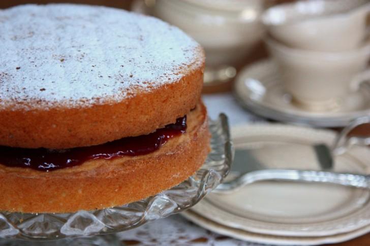 シンプルさが潔いイギリスケーキの女王的存在☆