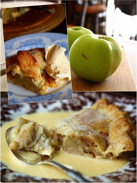 アップルパイに添えるなら温かいカスタード?バニラアイス?