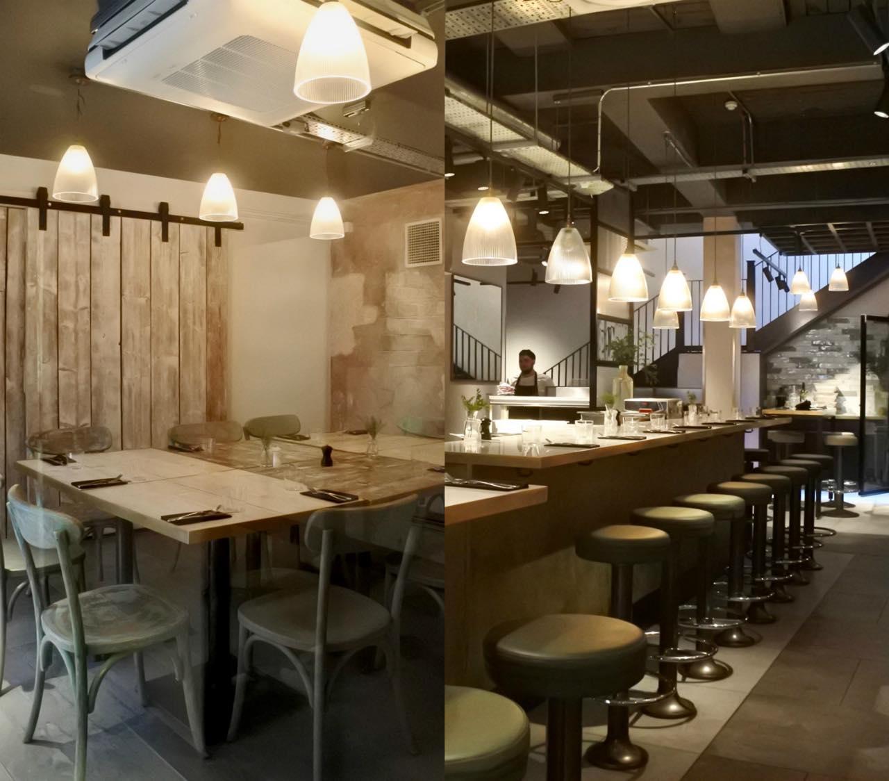 左の写真は、2階にある個室です。パーティに良さそう♪  右:どちらの訪問も遅い時間だったので、私たちが食べ終わる頃には賑やかだったお店もこんな感じに。また夕方から大にぎわいになるのでしょう ^^